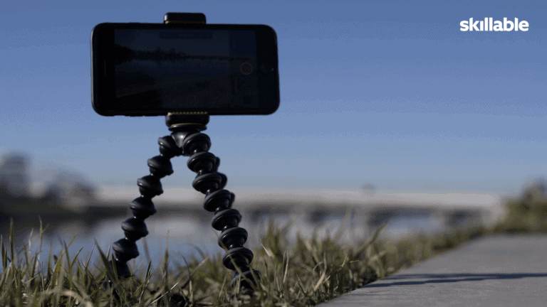 Tripod smartphone video
